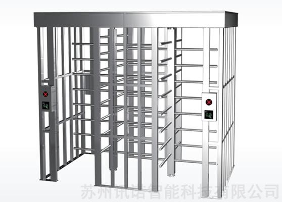 方顶双通道全高十字转闸_esd防静电门禁检测系统|esd